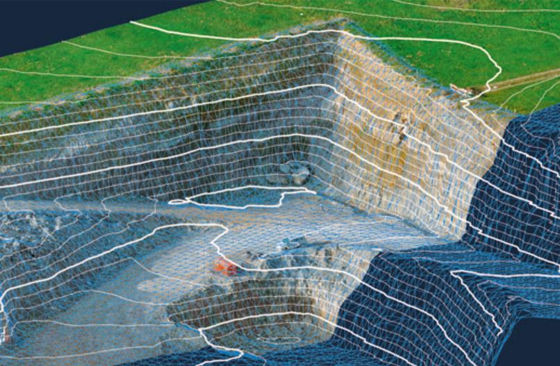 GEO Netz Schwyz Topografie Vermessung 3D