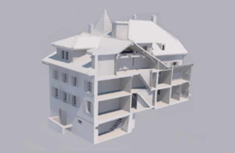 GEO Netz Vermessung und Bauingenieurwesen, Geomatik Schwyz 3D